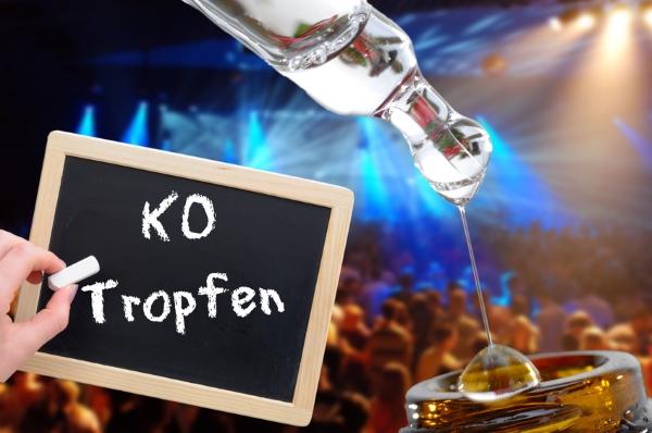 KO tropfen nicht nur an Fasching Wirkung und Symptome