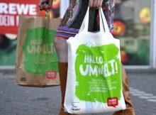 Rewe Plastiktüten Verzicht für Umweltschutz