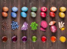Ostereier selber und natürlich färben