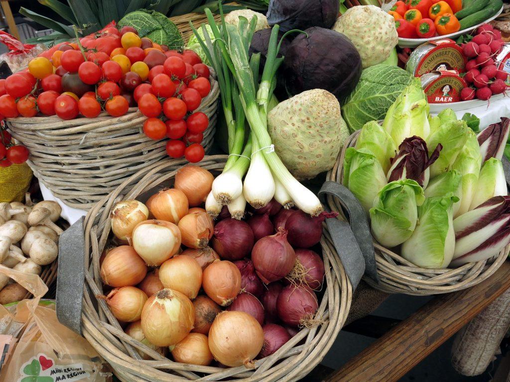 Frisches Gemüse ist am wertvollsten und am umweltfreundlichsten wenn es regional und saisonal produziert wurde