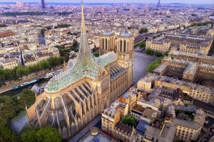 Wiederaufbau Notre Dame Entwurf von Vincent Callebaut
