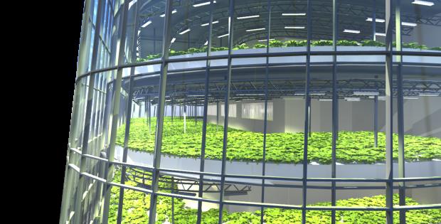 Plantagon Vertical Farming Landwirtschaft der Zukunft
